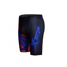 XTEP Men's Compression Tight Jammer Swimsuit Swimming Shorts Trunks - 1311