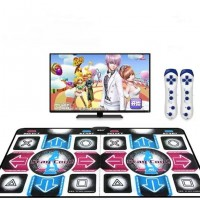 HDMI 1080p Arcade Motion Sensing Non-Slip Dual Dancing Step Yoga Mat Pad + 2 Wireless Sense Controller for PC & TV