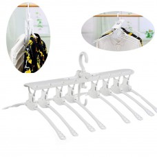 Multifunctional Telescopic Plastic Folding Magic Hanger