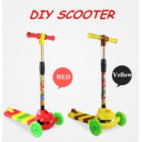 Fascol MK001 DIY Building Block Scooter