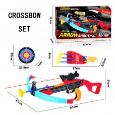 Children Toy Crossbow Shooting Set With Target and 3 Arrows
