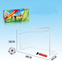 Sports-Youth Steel Soccer Goals Set with Ball and Pump